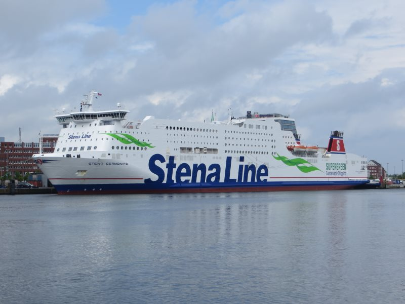Fährschiff Kiel