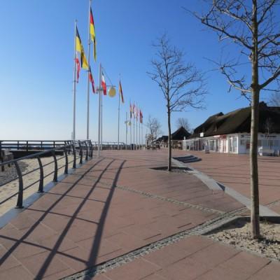 Strandplatz in Dahme
